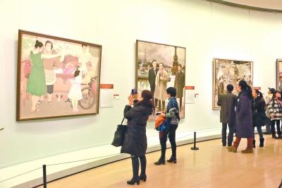 第十二届全国美术作品展览开幕