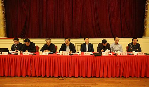 文化部召开2014年年终工作总结会